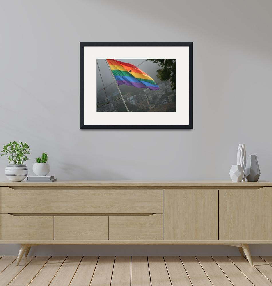 """""""Pride Flag""""  (2010) by misfitcitizen"""