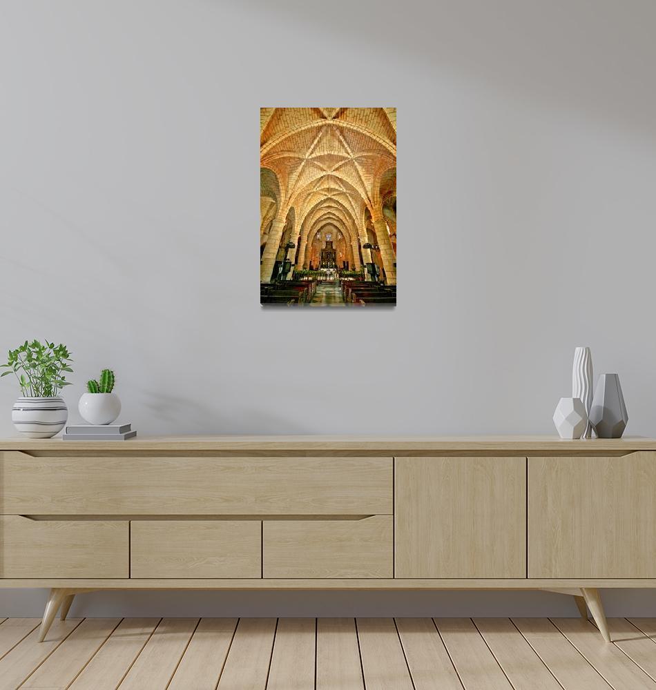 """""""Santo Domingo - Catedral de Santa María la Menor""""  (2010) by letlet"""