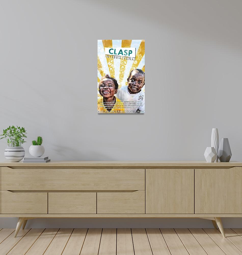 """ZAMBIAN CHILDREN""  (2010) by CLASP-ART"