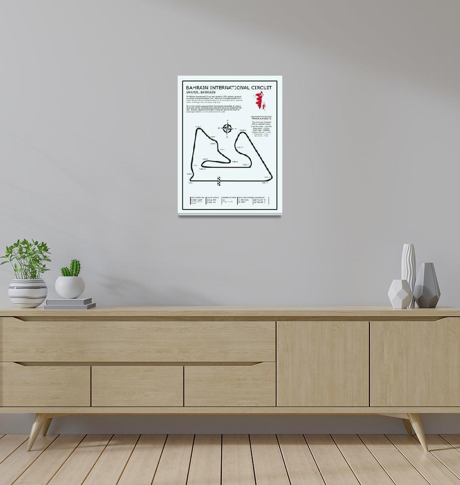 """The Bahrain International Circuit""  by mark-rogan"