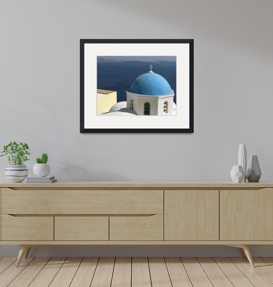 """""""Blue Dome""""  by BrendanBowie"""