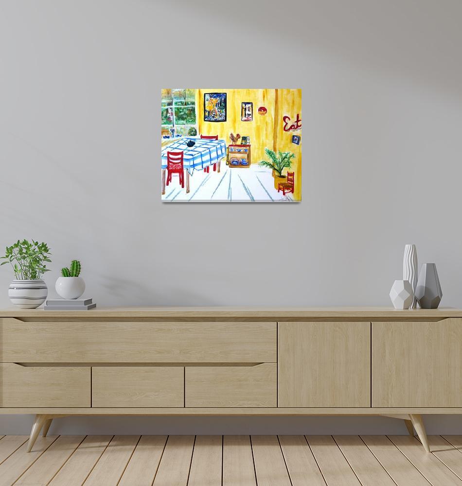 """Van Goghs Kitchen""  by lorisart"