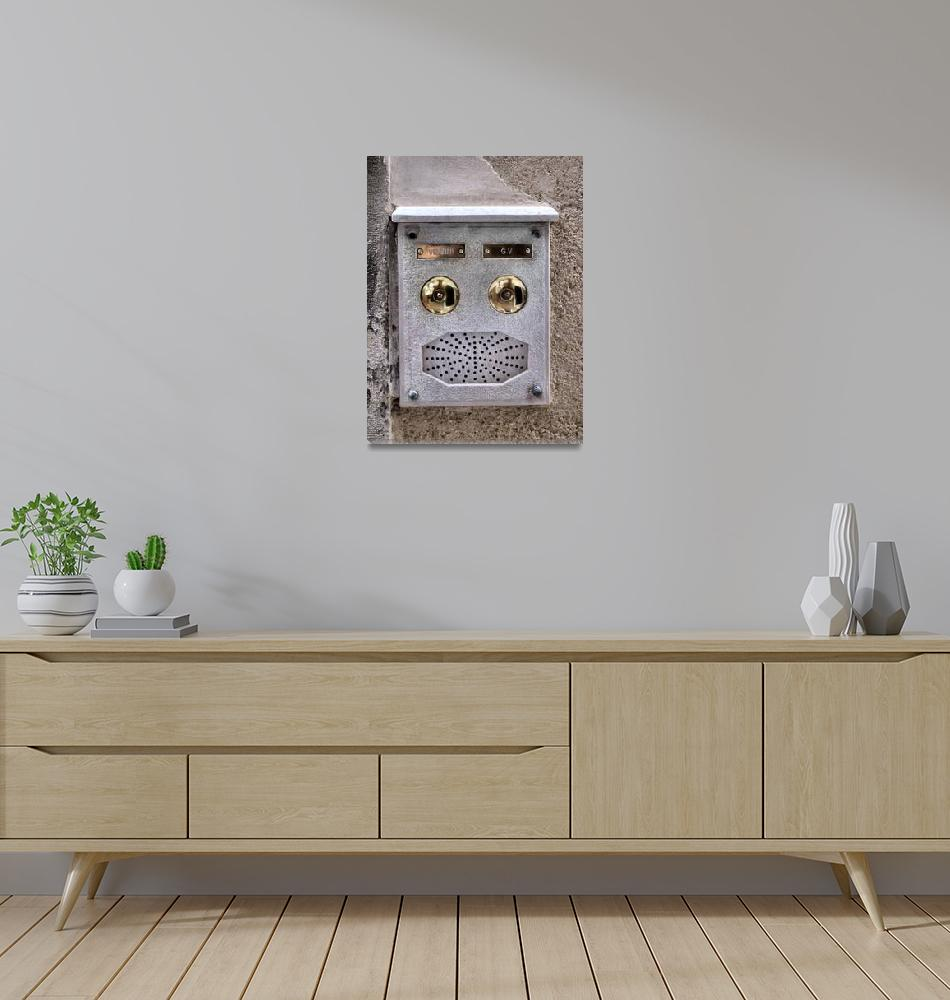 """""""Talking face""""  (2012) by getshaped"""