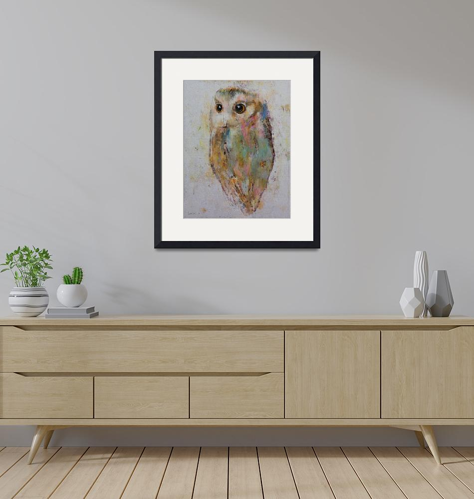 """""""Owl Painting""""  by creese"""