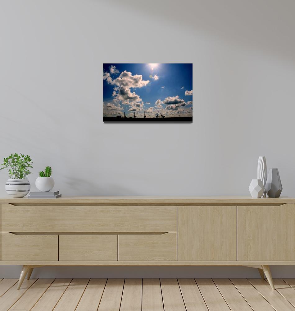 """""""Dutch Giraffes 1""""  (2009) by EHAM-spotter"""
