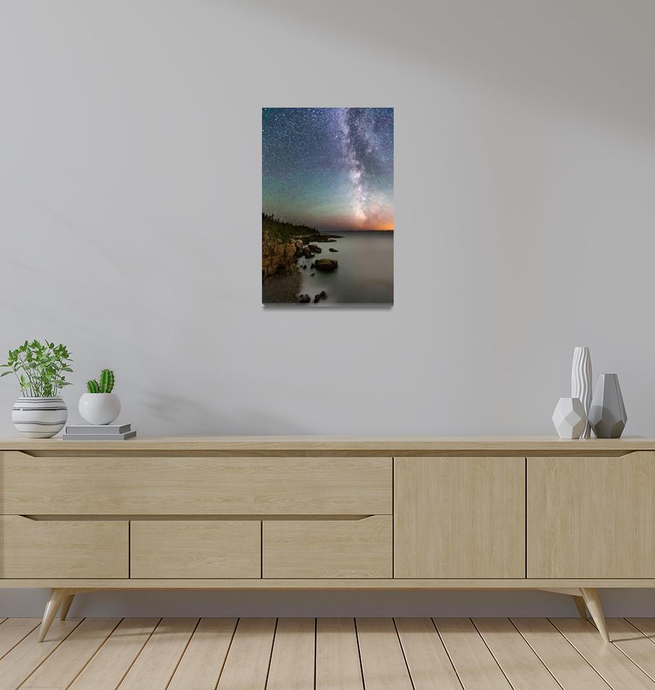 """Milky Way Schoodic Pennisula""  by cyorkphoto"