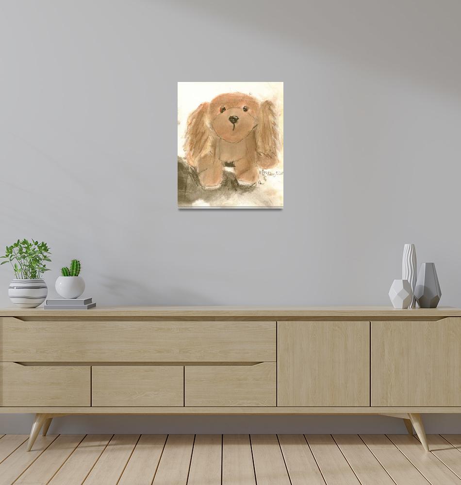 """Hooch Dog""  (1996) by RoseanneCarter"