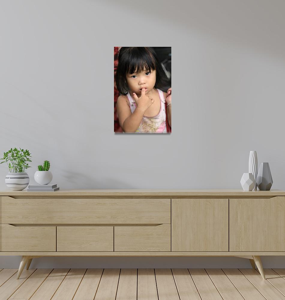 """""""Little Hue Girl""""  (2008) by RossilliconPhotography"""