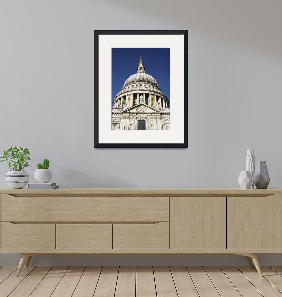 """""""Dome Of St Pauls Cathedral, Close Up London, Engl""""  by DesignPics"""