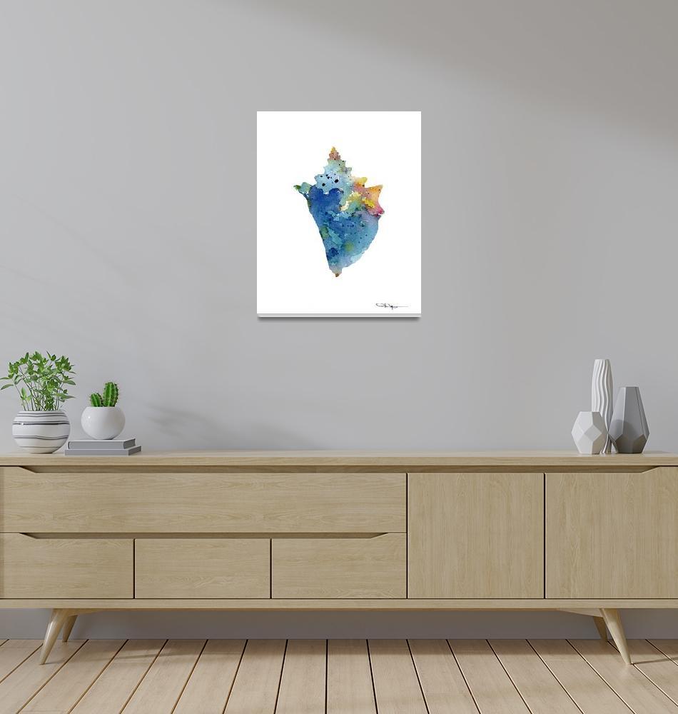 """""""Sea Shell""""  (2015) by k9artgallery"""
