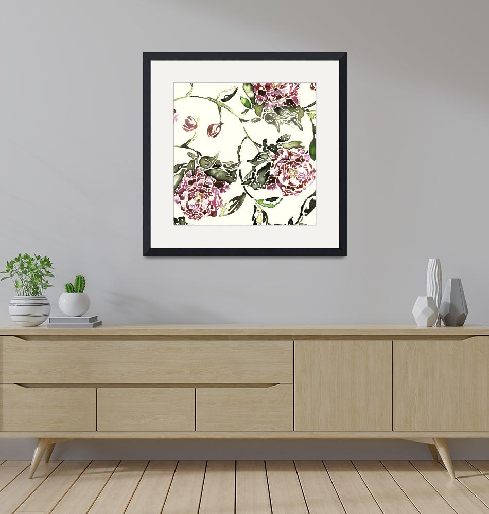 """""""Peonies""""  by LauraHall"""