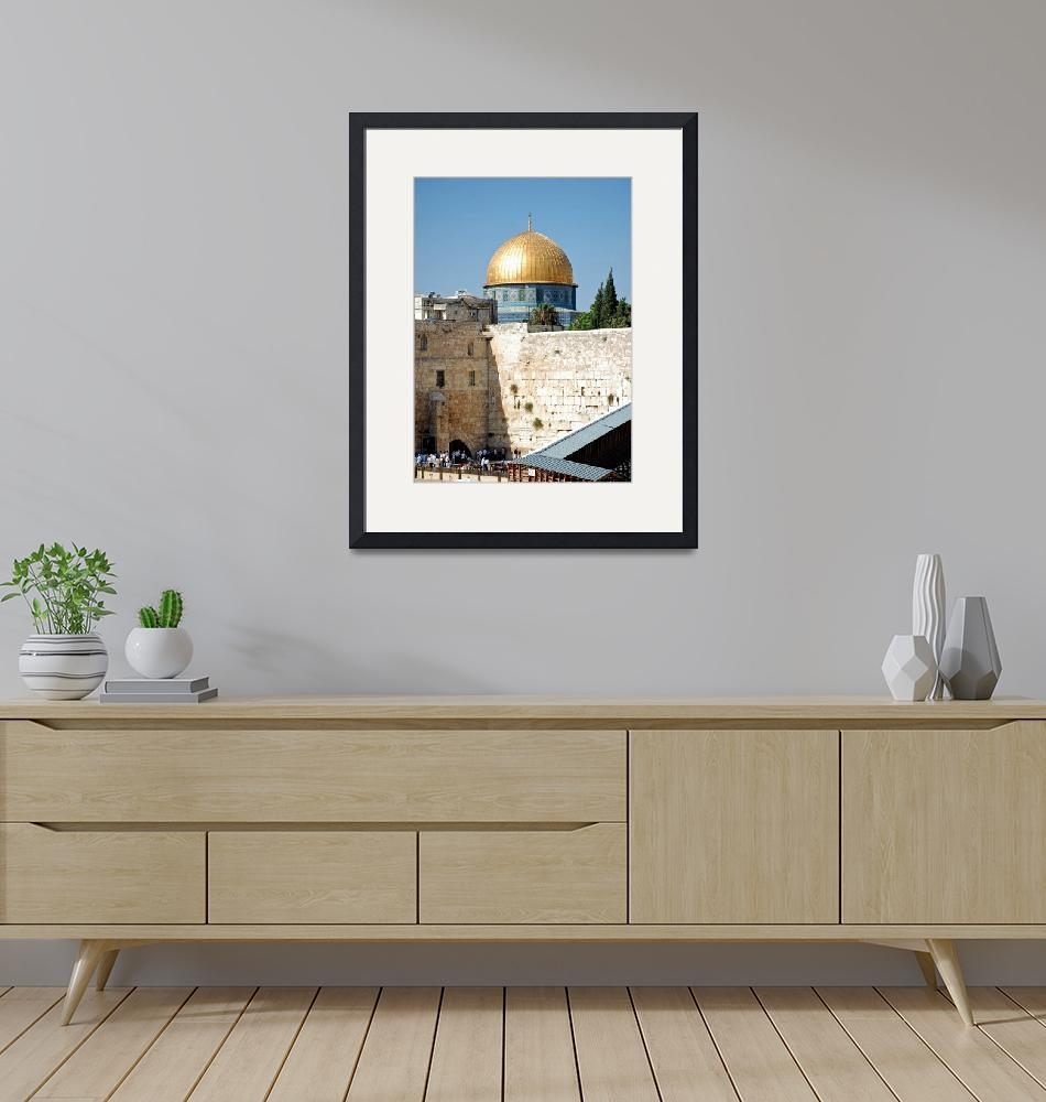 """Western Wall""  (2009) by aroundtheisland"