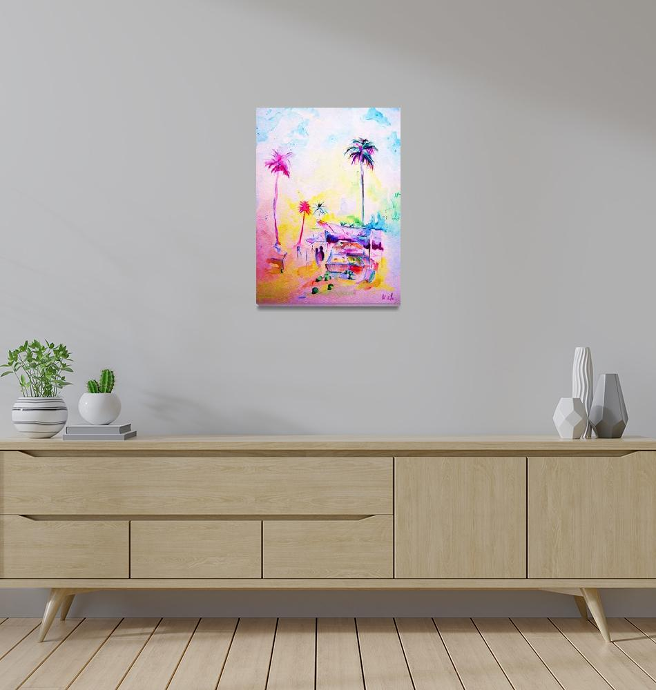 """Neon Market""  by dazubaman"