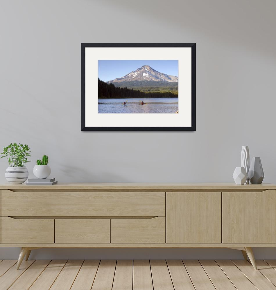 """""""Trillium Lake""""  (2009) by christopherboswell"""