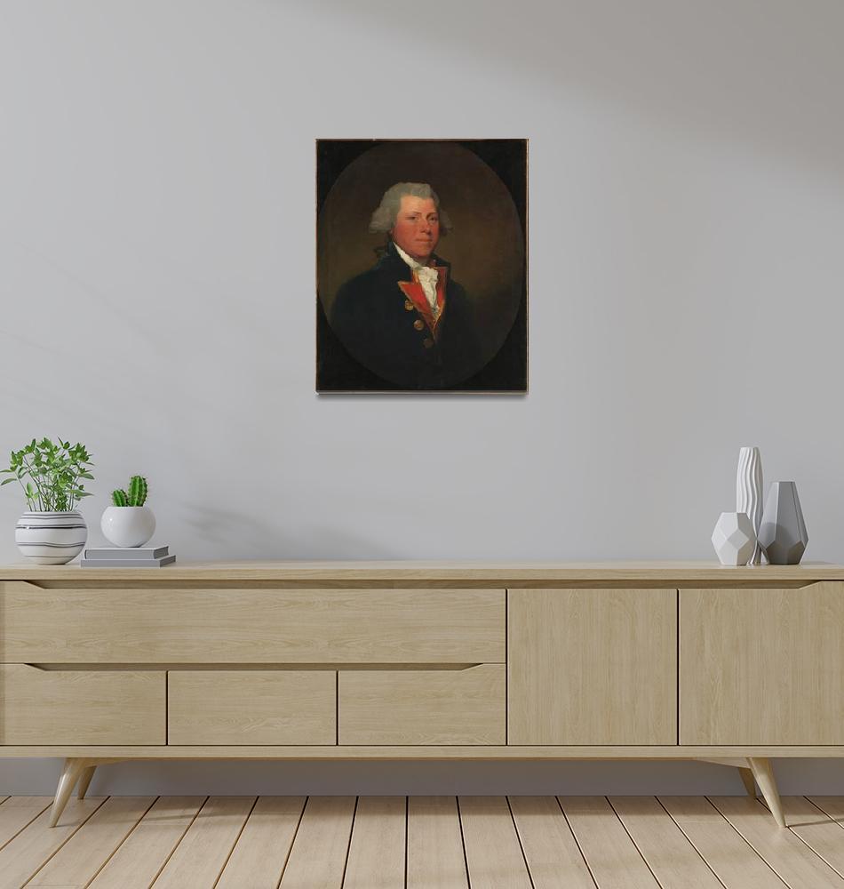 """Gilbert Stuart~James DeLancey""  by Old_master"