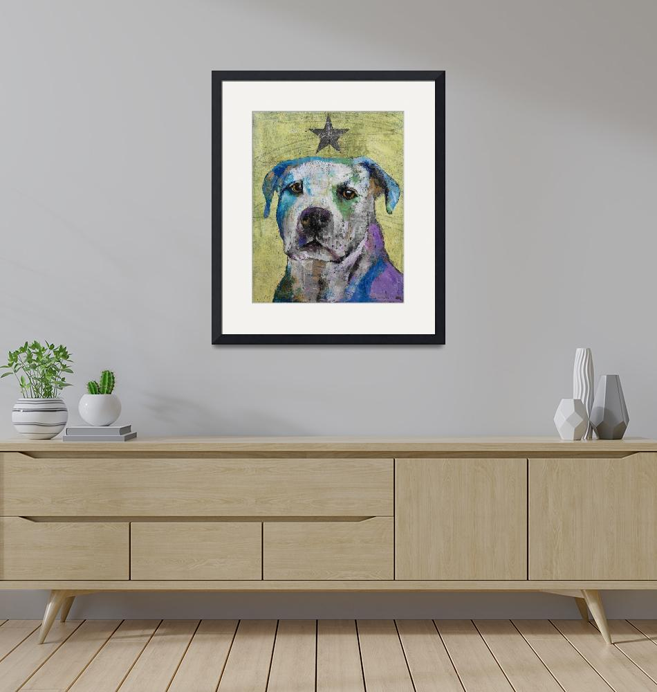"""""""Pit Bull Terrier""""  by creese"""
