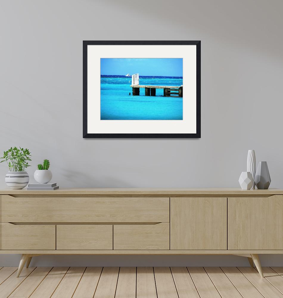 """""""Boat & Pier"""" (2008) by X-posed"""