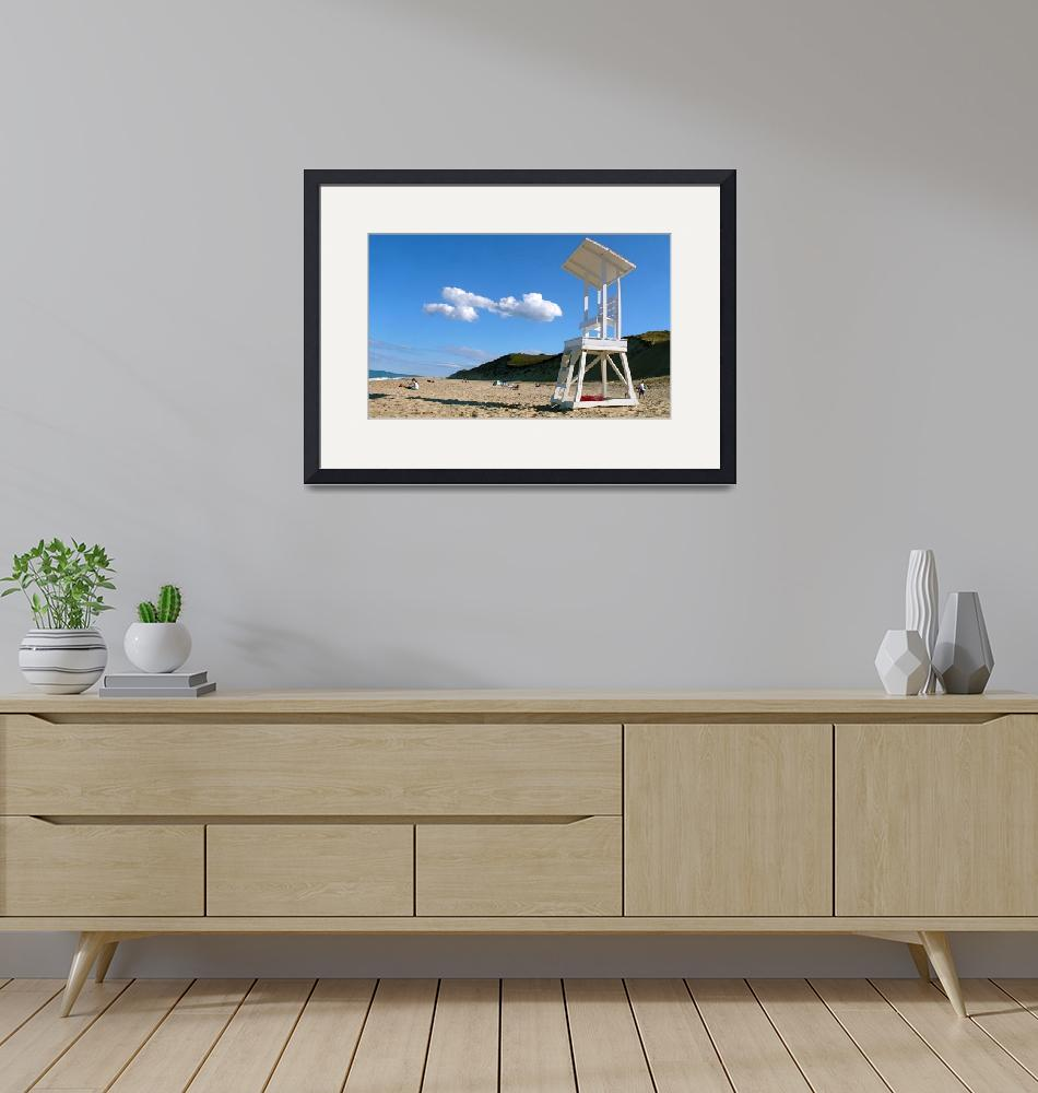 """Cahoon Hollow Beach Cloud""  (2010) by ChrisSeufert"