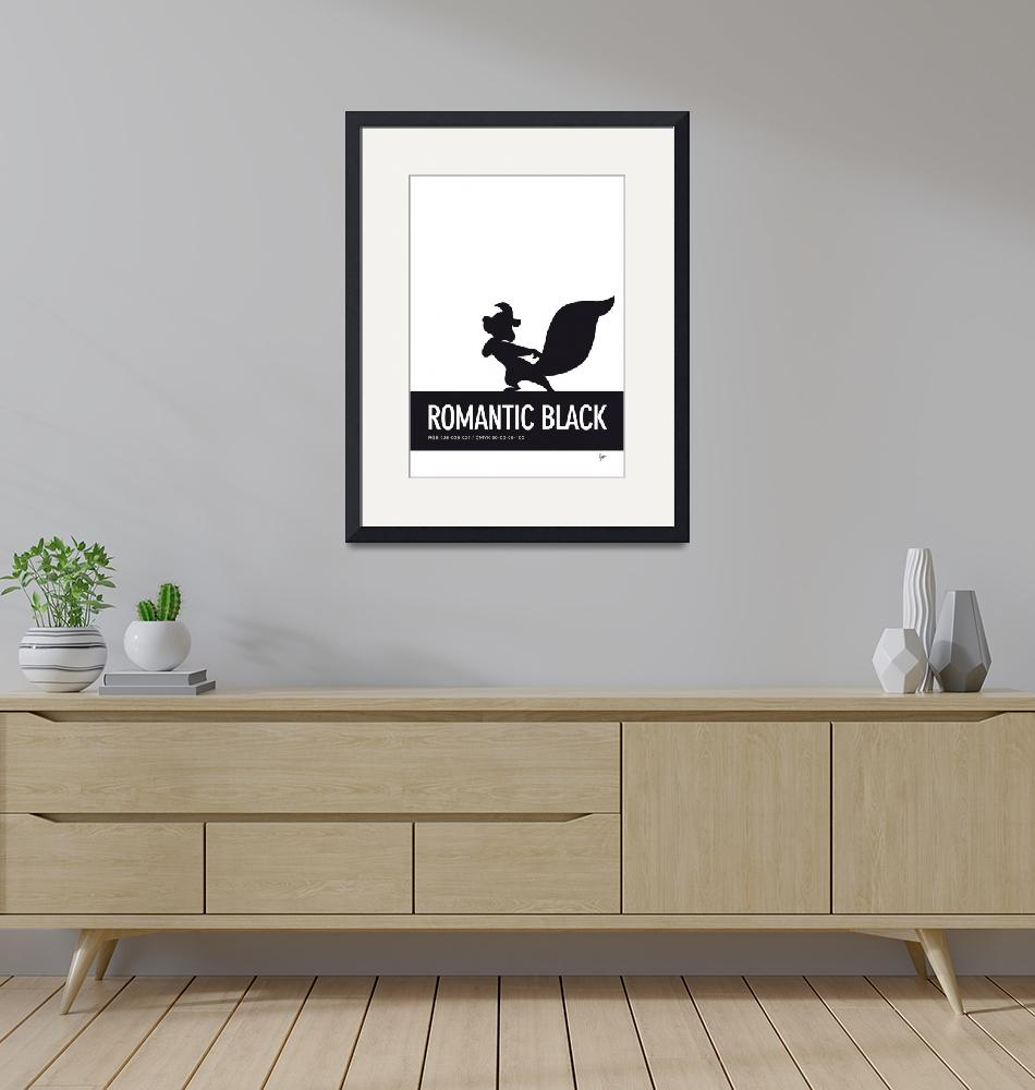 """""""No13 My Minimal Color Code poster Pepe Le Pew""""  by Chungkong"""