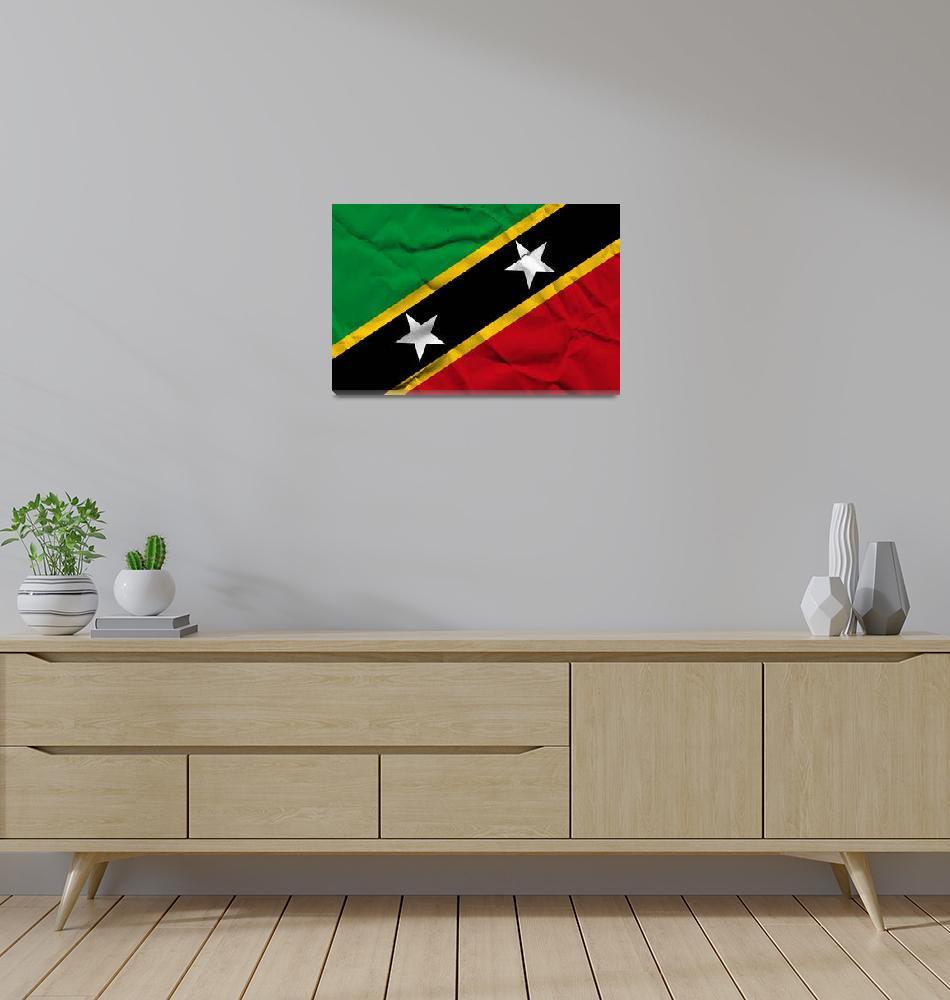 """Saint Kitts and Nevis-2""  (2014) by thegriffinpassant"