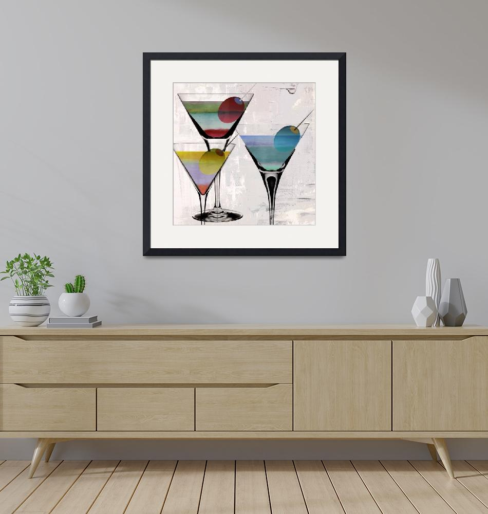 """""""Prism Martini""""  (2018) by MindyDidIt"""