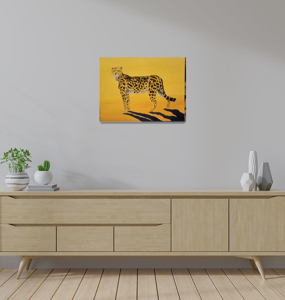 """""""King Cheetah""""  (2009) by Monzie"""