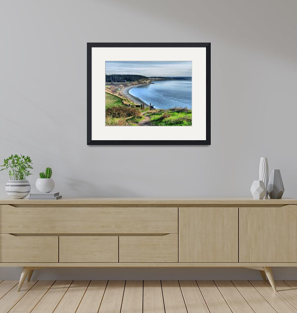 """""""The View Ebey Landing""""  (2010) by gopnw"""