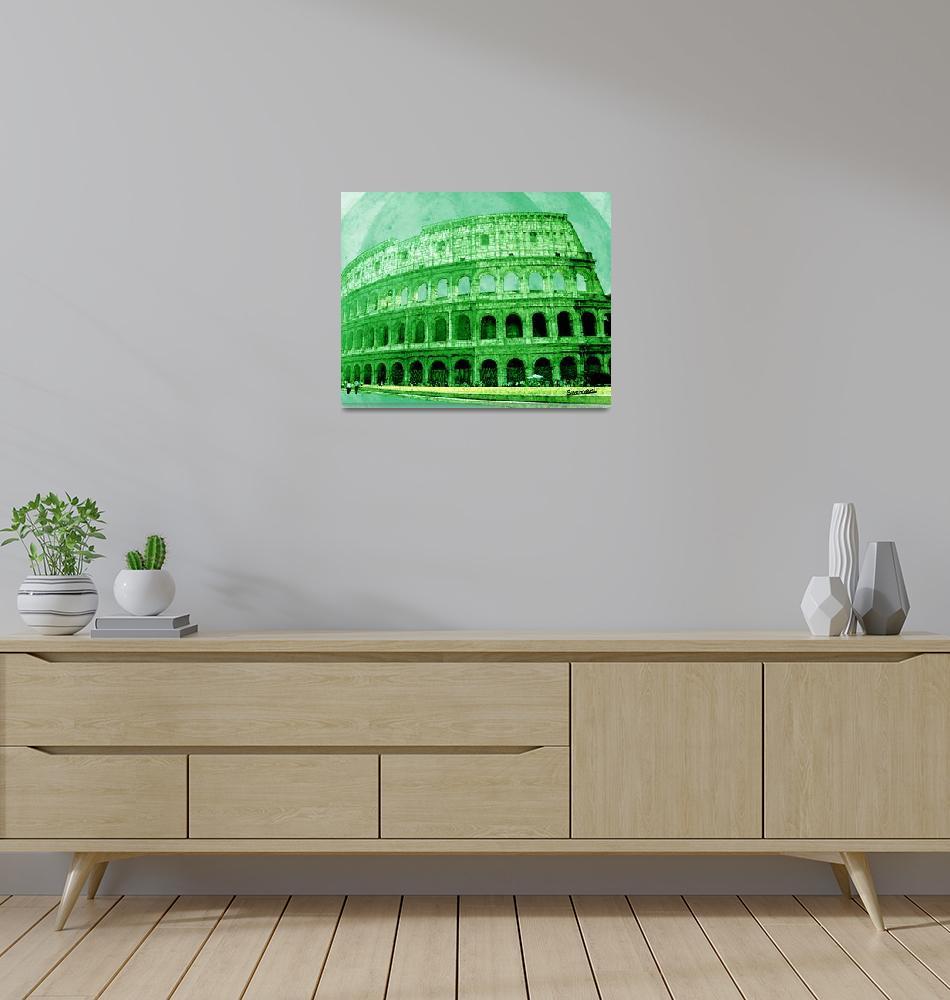 """""""Colosseo""""  (2012) by suemari"""