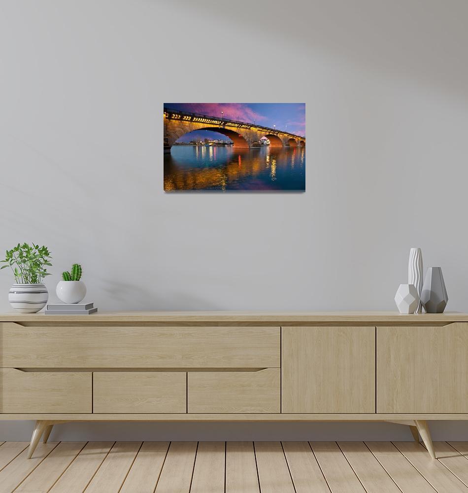 """The London Bridge in Lake Havasu""  by pbk"