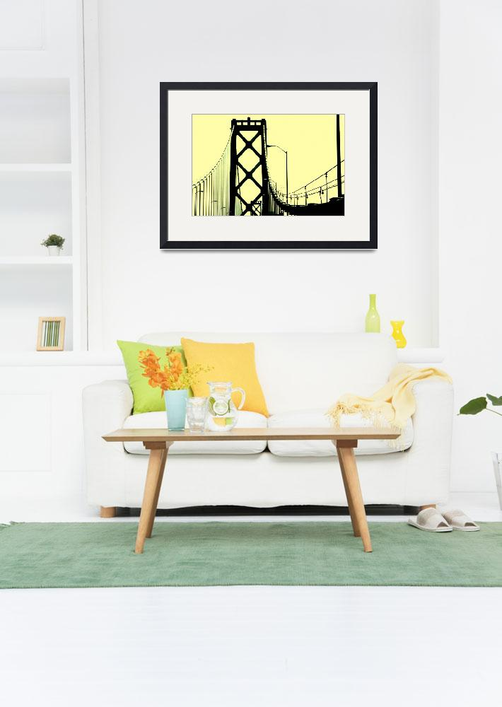 """Bay Bridge""  (2011) by TaryneLee"