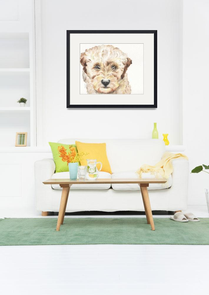 """""""TP Trailing Toddler Labradoodle Nala 1200&quot  (2014) by Designomel"""