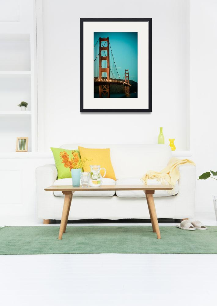 """""""Golden Gate Arches&quot  (2009) by chesman"""