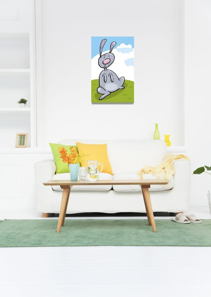 """""""rabbit""""  (2010) by cartoonfactory"""