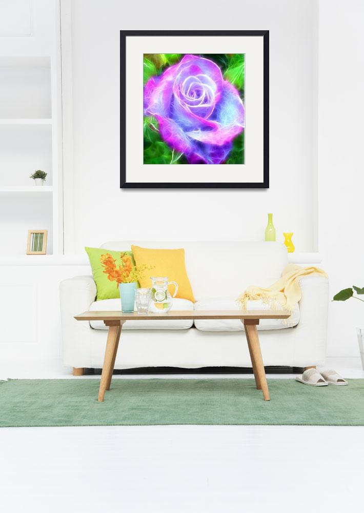 """""""Rose of Magic&quot  (2017) by modernhouseart"""