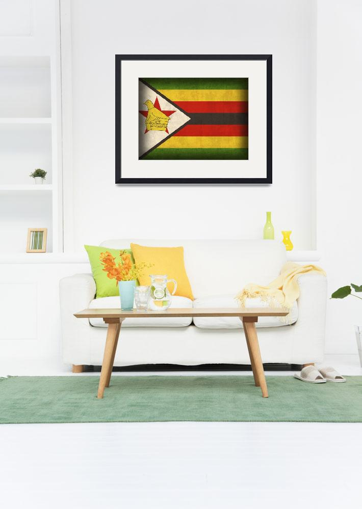 """""""Zimbabwe&quot  by artlicensing"""