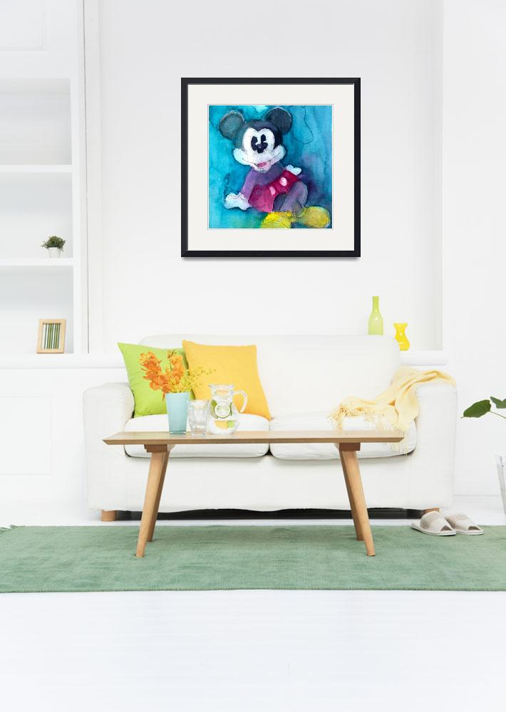 """""""Mickey Mouse""""  (2012) by dfrdesign"""