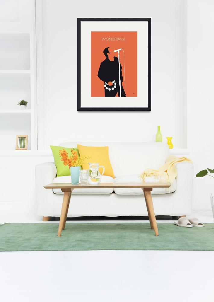 """""""No023 MY Oasis Minimal Music poster&quot  by Chungkong"""