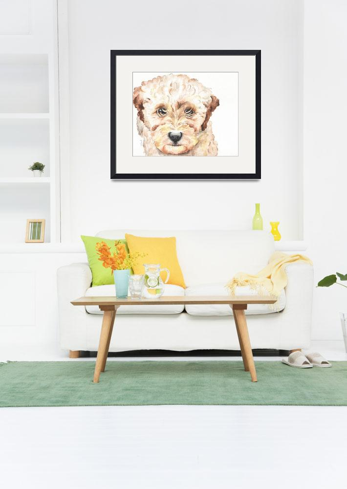 """TP Trailing Toddler Labradoodle Nala&quot  by Designomel"