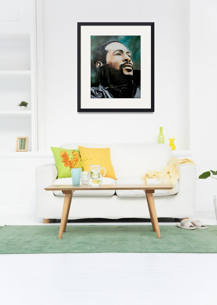 """""""Marvin Gaye&quot  (2008) by iconicarts"""