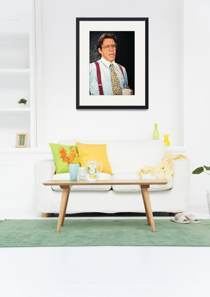 """""""Bill Lumbergh - Office Space&quot  (2018) by taylansoyturk"""