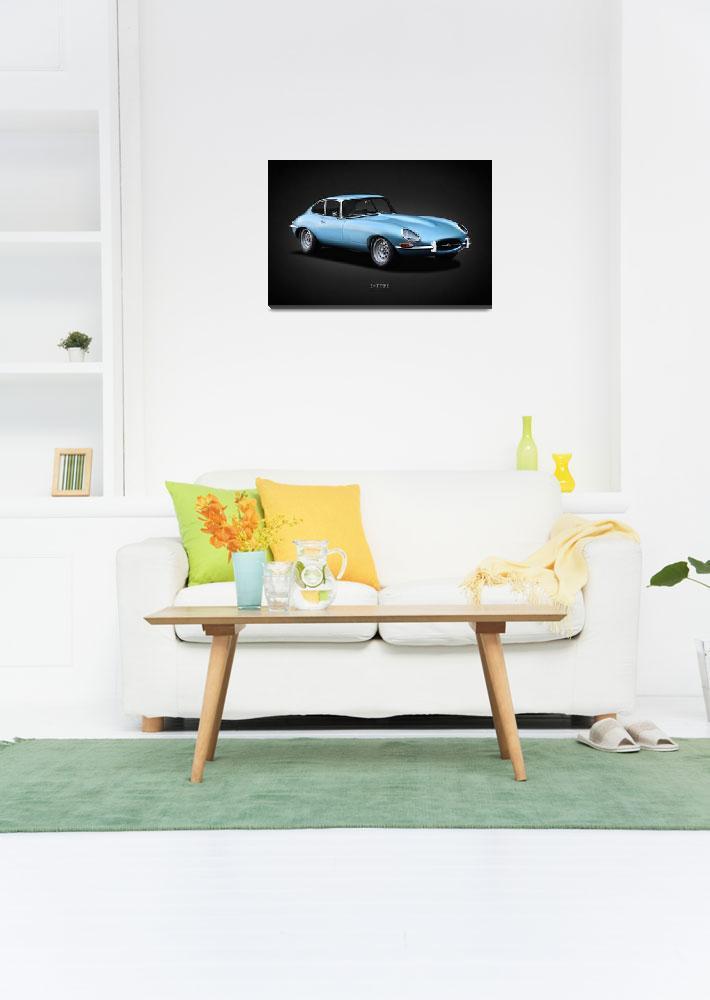 """Jaguar E-Type 1966""  by mark-rogan"