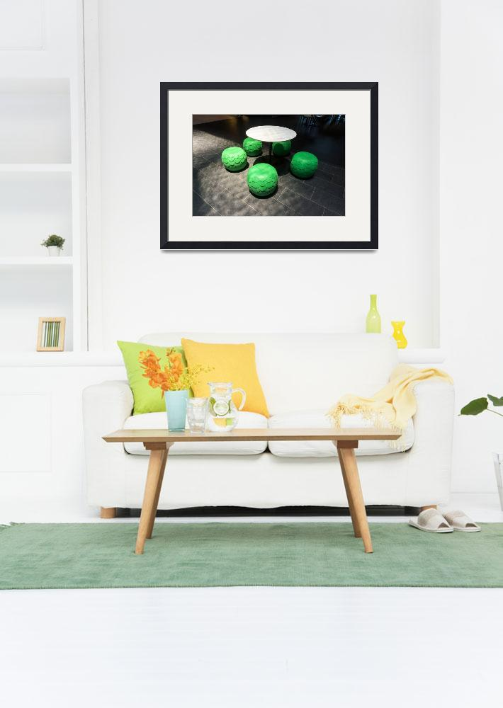 """""""Seating Modern furniture Apartment&quot  (2015) by Downundershooter"""