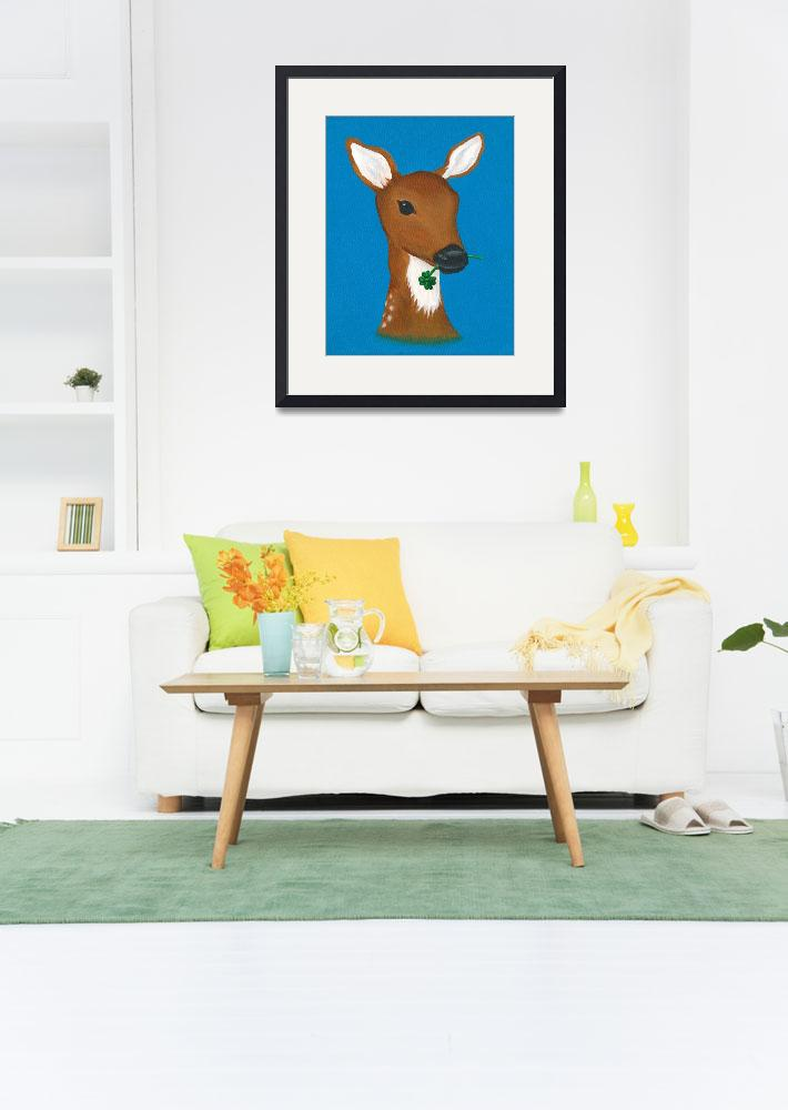 """""""OhDeer&quot  (2011) by LibbyJohnston"""