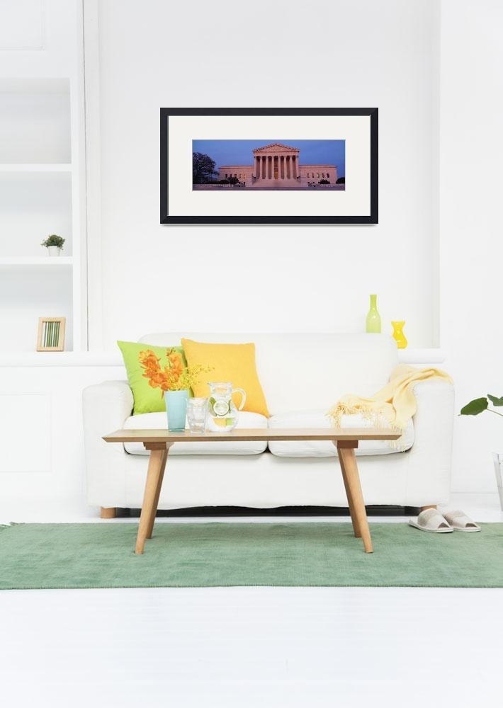 """""""US Supreme Court building&quot  by Panoramic_Images"""