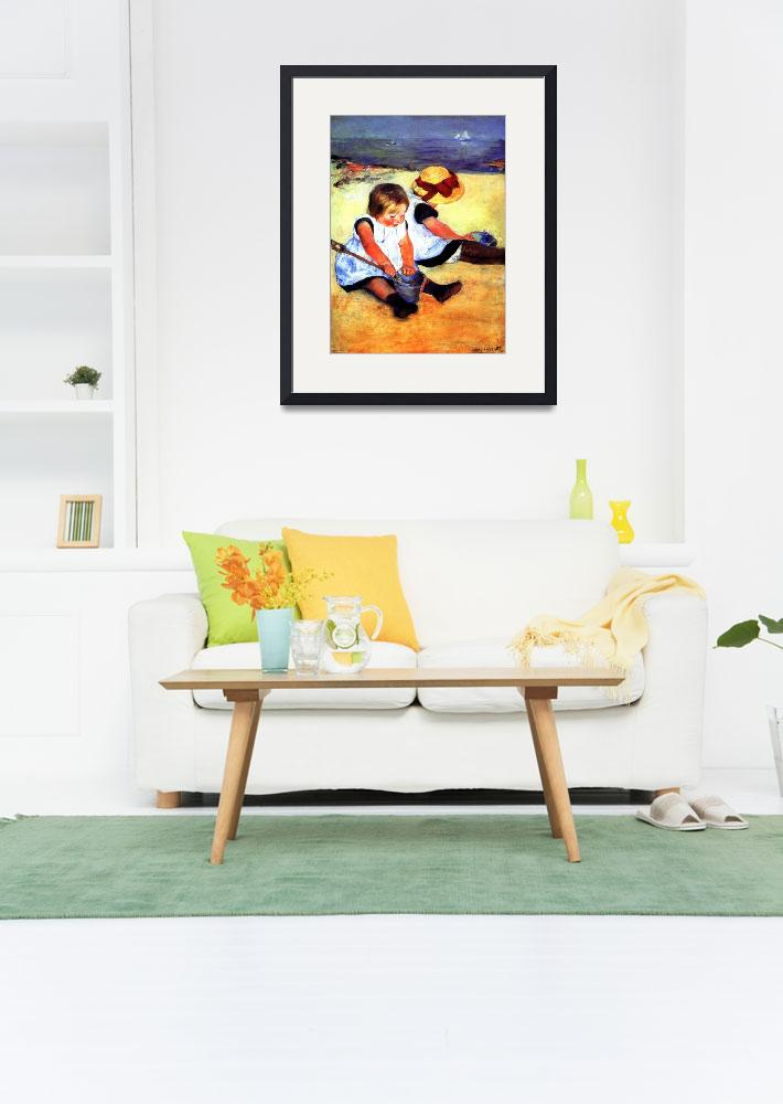 """""""CHILDREN AT THE BEACH&quot  by homegear"""
