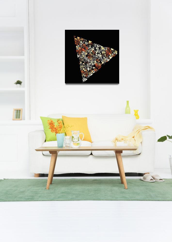 """""""minimalistic triangles&quot  by KrisLeov"""