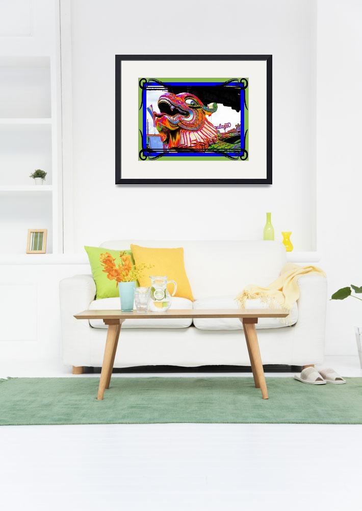 """""""CARNIVAL CREATURE BRIGHT&quot  (2015) by JayneSomogy"""