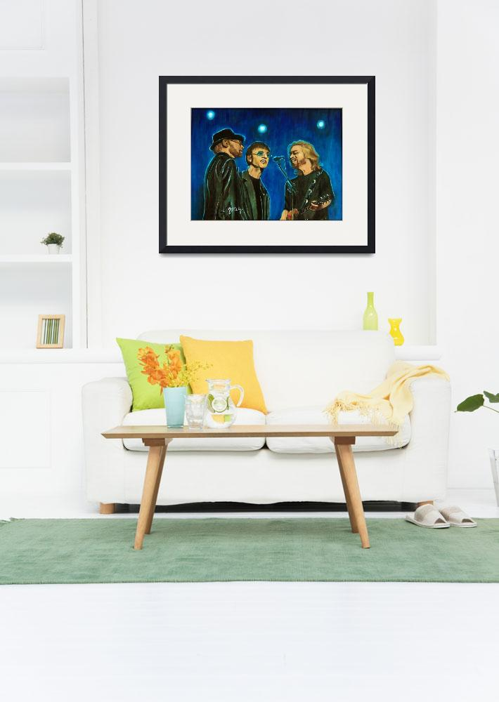 """""""Bee Gees""""  (2012) by paintingsbygretzky"""