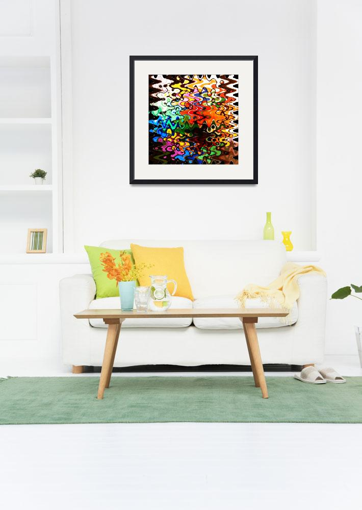 """""""Colorful Abstract Design&quot  by Groecar"""