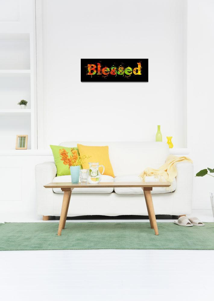 """""""blessed old print color inside&quot  by lizmix"""